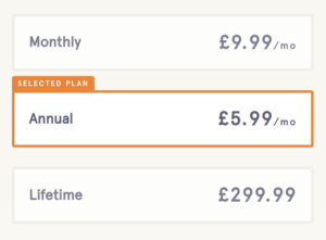 Headspace subscription plans