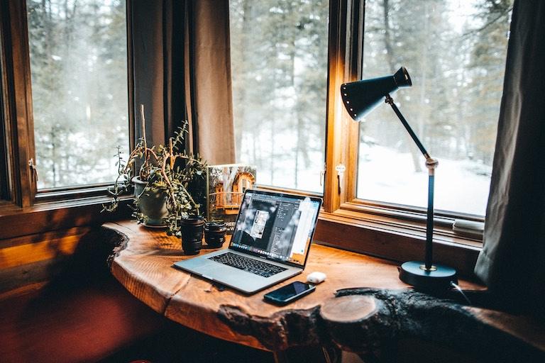 A perfect desk workspace